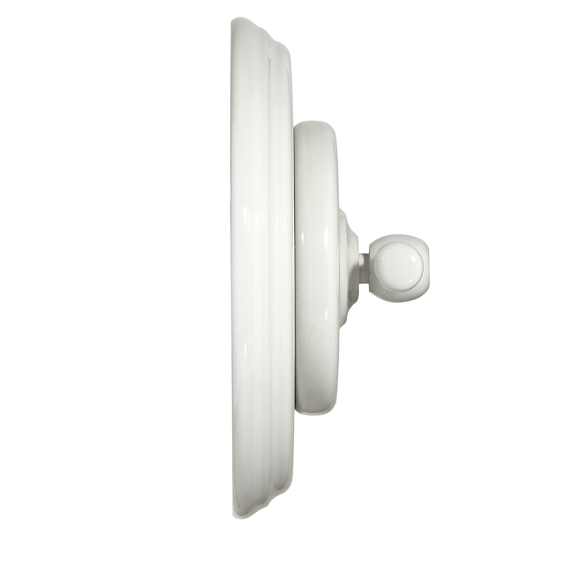 Fontini Garby Colonial White porcelain profile
