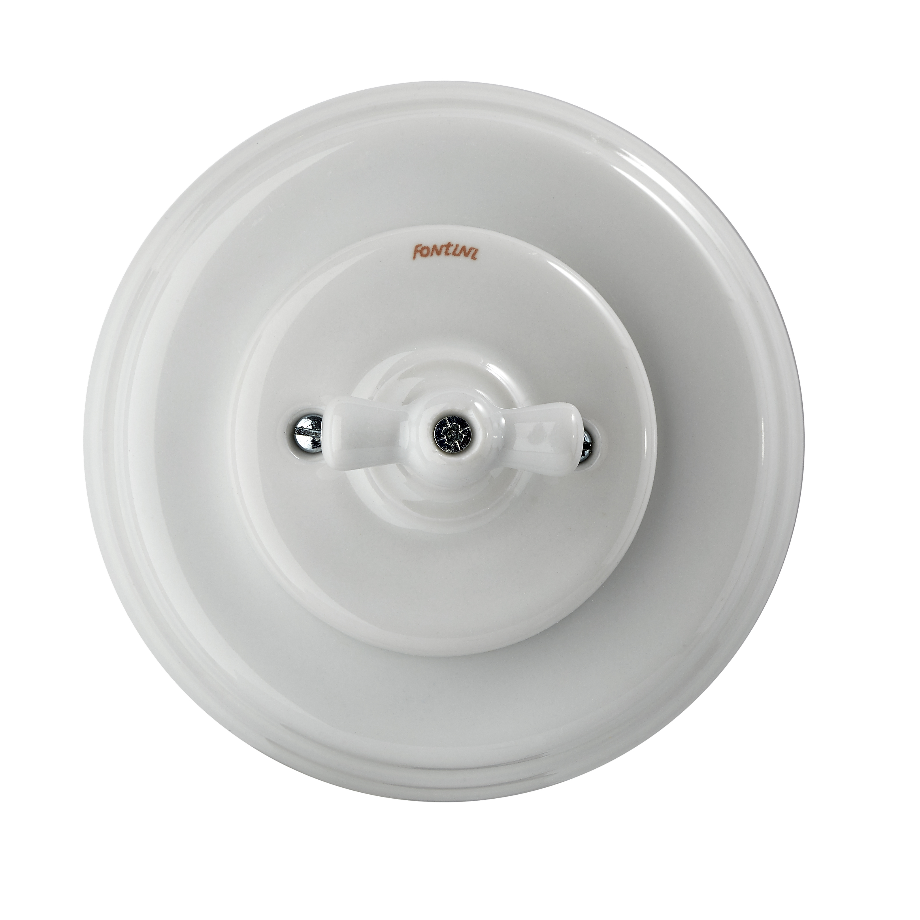 Fontini Garby Colonial White porcelain